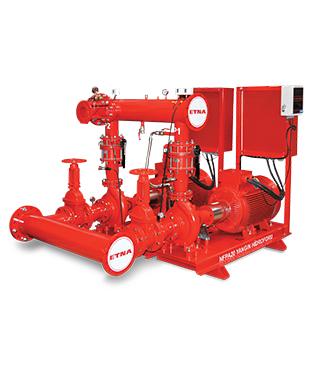 Etna - NFPA 20 Standardına Uygun Yangın Pompası