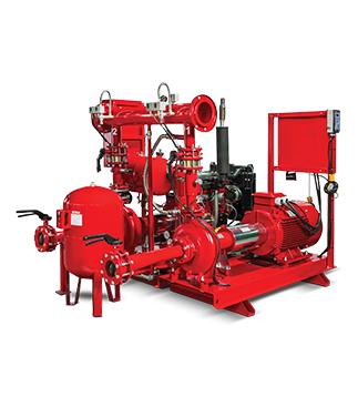Etna - TS EN 12845 Yangın Pompa Sistemleri