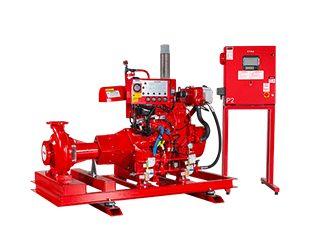 Etna - UL Listeli ve FM Onaylı Yangın Pompa Sistemleri